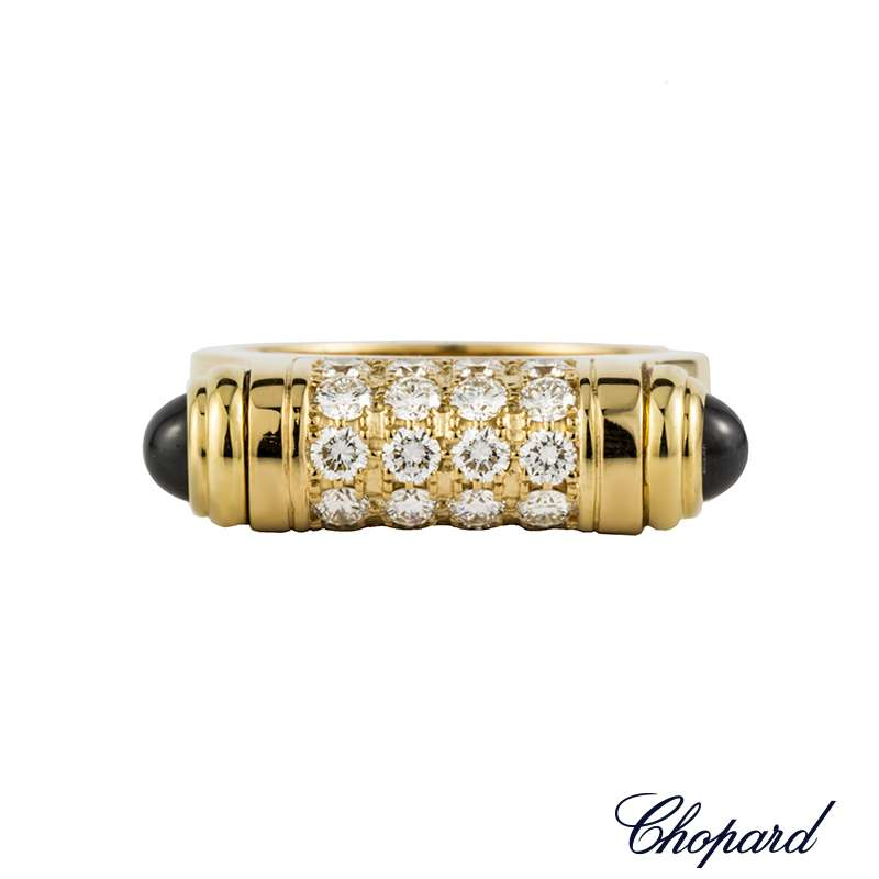 Chopard 18k Y/G Limted Edition Diamond Set Imperiale Ring 823255-0111